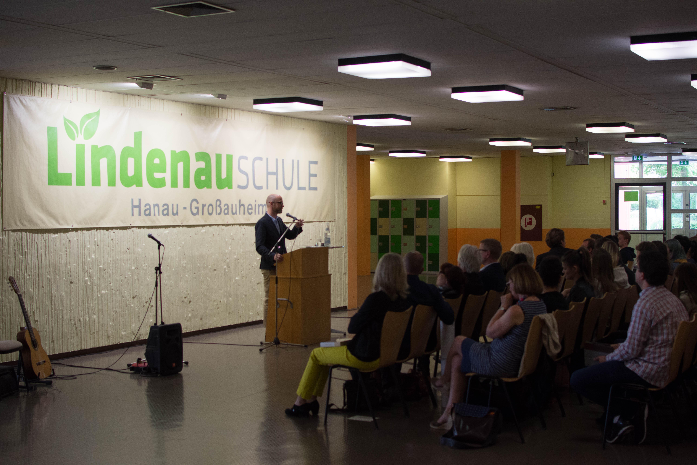 Dr. Peter Tauber an der Lindenauschule