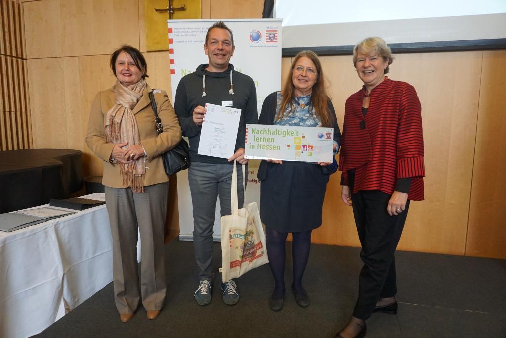 Auszeichnung als Umweltschule erhalten