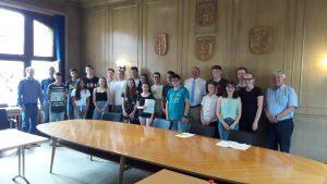 Preisgekrönte Schülerinnen und Schüler