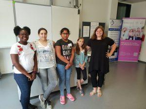 Schulformübergreifendes MINT-Projekt für Schülerinnen der Jahrgangsstufen 5 und 6