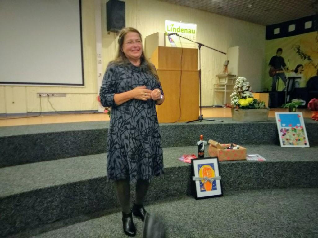 Verabschiedung von Claudia Neumann: das Geheimnis des nie endenden Antriebs