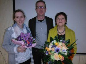 Frau Marita Reusch und drei ReferendarInnen verabschiedet