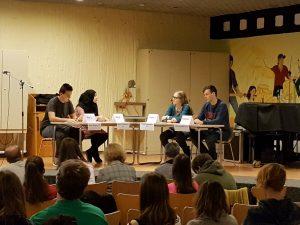 """Von der Vertreibung böser Geister & dem praktischen Wert des Unterrichts in Poesie – Der Schulwettbewerb """"Jugend debattiert"""" an der Lindenau"""
