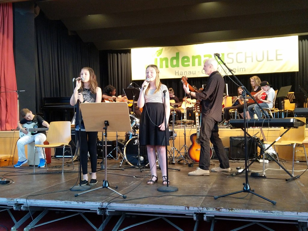 Sommerkonzert der Lindenauschule: Welcome to the world!