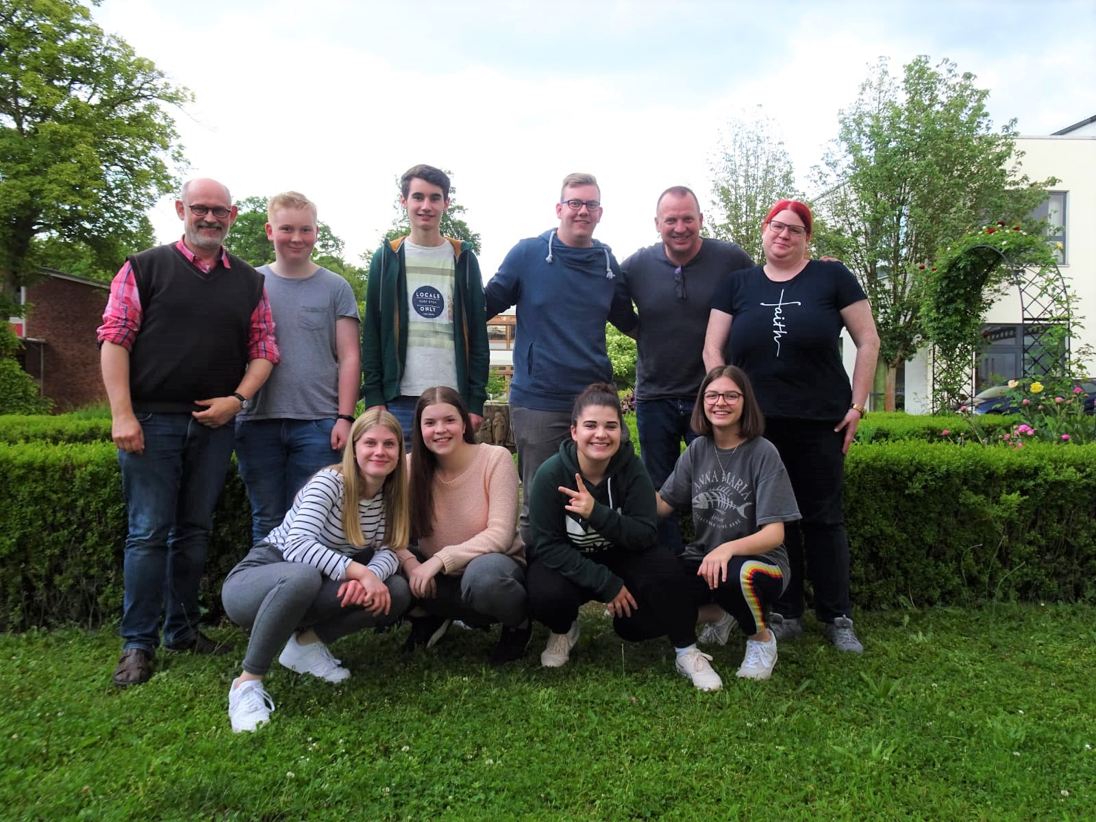 """Schülerinnen und Schüler   der Lindenauschule nehmen an der Veranstaltung  """"Kloster auf Zeit""""  bei den Franziskanern teil"""