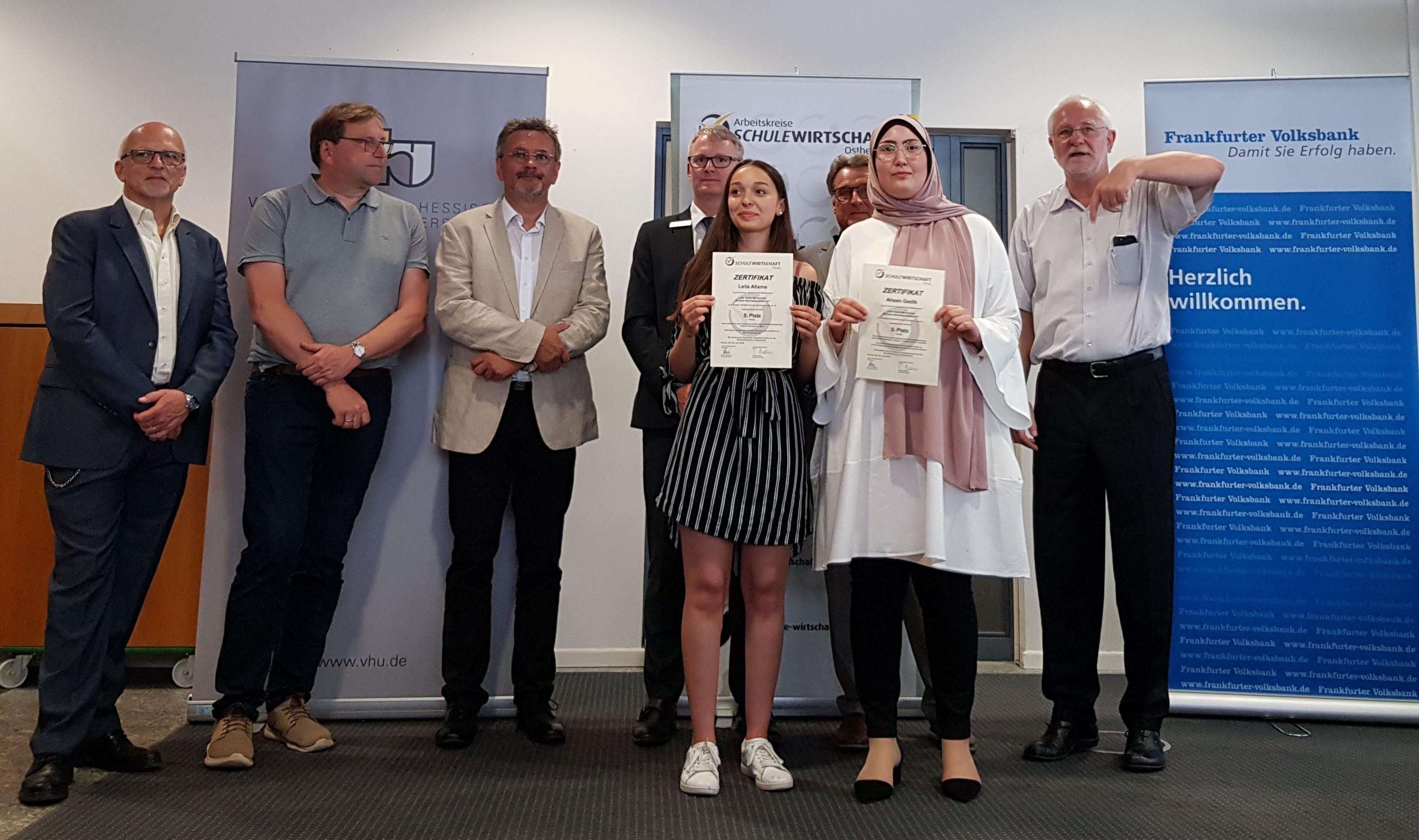 """Großer Erfolg beim Wettbewerb um den """"besten Praktikumsbericht"""" 2019"""