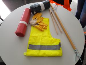 """Beteiligung an der Aktion """"Sauberkeitspaten"""" der Stadt Hanau"""