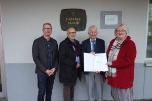 """Lindenauschule wird als """"MINT-freundliche Schule"""" ausgezeichnet"""