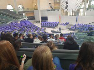 Lindenauschülerinnen und -schüler der 10.Klassen in Berlin