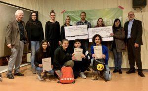 Schülerinnen und Schüler erlaufen beim Sponsorenlauf Spenden über 5300 Euro